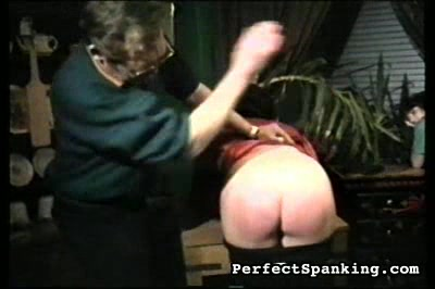 Two girls castigate by two men and each other. Two girls suspected of theft get bare butthole spanking.  A flash of vagina sweetens this video.