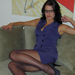 Horny nerdy jody in nylons. Jody is that horny girl at work with the glasses that just drives your tool straight into the bathroom every time you see her.