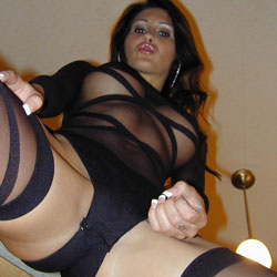 Latin bad girl. This Latin girl is perfect for all the other guys that want to see smut and are looking for a girl that wants to get dirty.