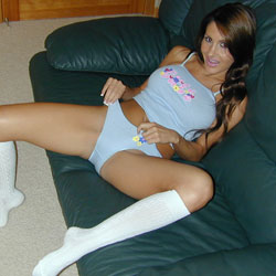 Evelin in a panty show. Evelin loves to show off her panties, so she`s back again to give you more.