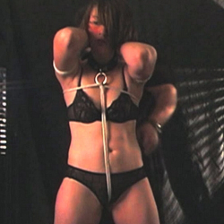 Kinky device bondage episode. Bondage videos are getting more and more popular and if you are into slutty short hairy slaves, you have come to the right place since Pearl is one of them.