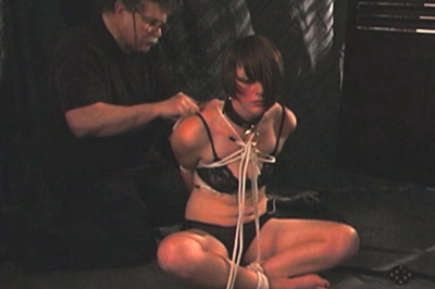 Mikka humiliated in hot video  he is going to make sure that she has a pleasant time with him in the dungeon but for now all he wants is to tie her hands behind her back so she can t move at all. He is going to make sure that she has a appealing time with him in the dungeon but for now all he wants is to tie her hands behind her back so she can't move at all.