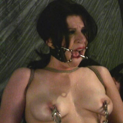 Spanking and breast bondage. Betty loves to play kinky bondage games but is too much even for her.