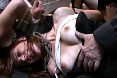 Sasha and delilah bondage clip  their master is only going to make them feel some pain and not pleasure and that is for sure. Their master is only going to make them feel some pain and not pleasure, and that is for sure.