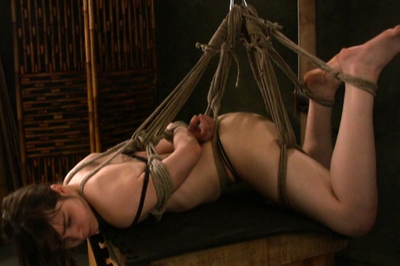 Slutty maya hogtie. This pretty darling is more than ready to reach a strong orgasm and it is only a matter of time when that is going to happen since she is moaning and screaming all night long.