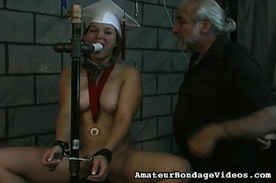 Angelina loves to play bdsm games. Her nipples are rock violent and that is not going to change for sure since she enjoys BDSM a lot