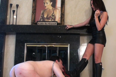 Worship their asses 71. This slave better shows his skills since if that doesn't happen, they are going to slap him even harder and make sure that he remembers this night, but there is no doubt that he is not going to forget the moment when he was taking the pounding like never before, until his poor little white butthole turned red.