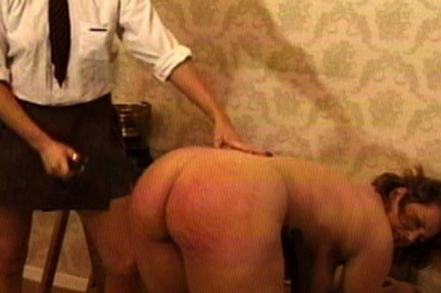 A deal 55. Her supervisor presents a deal. If she can withstand a brutal spanking, she won't tell about the missing silver. The groundskeeper has no choice.