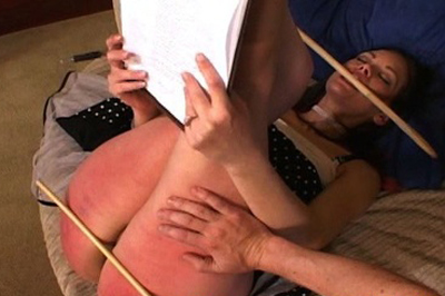 Caning for a sale 85. He brought the cane, which he uses on her ass, thighs, and the back of her legs. This real estate agent is one tough cookie. But does she walk out with the sale?