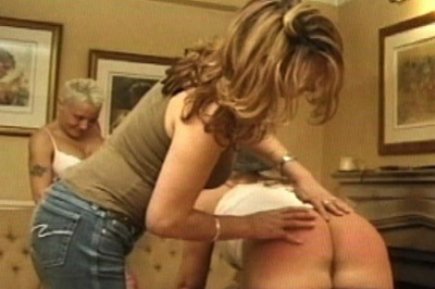 One by one spanking 24. She leads them to her office, where some painful fun awaits. One by one, she takes them over her knee and slaps her bare hand rough against their asses.