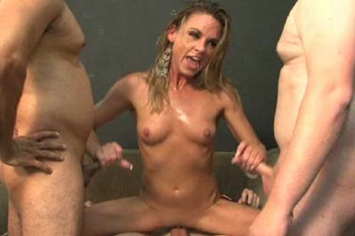 Gang bang neighbors 27. Since he's been gone, her horniness to blame, she's become quite friendly with the neighbors. Gang bang friendly.
