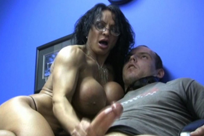 Wunder woman muscled penish stroking. Wunder Woman wants to do more with her greatest fan. She shoves her large muscled breast in his face, pulls out his massive cock, oils it up, and strokes it with her fit grip.