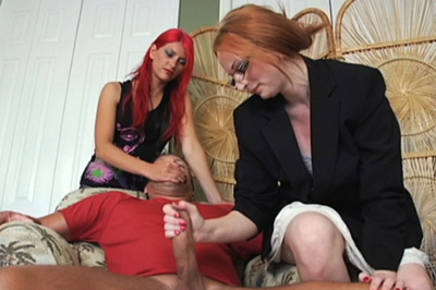 Rough hand jobs 85. Miss Lords know what to do. All Aianna has to do is get a appealing handle full of cock and balls and give it a mean twist.