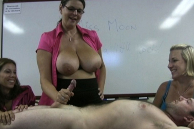 Classroom embarrassment 42. Ten minutes into the class and she already has a student in trouble. She calls him to the front of the class. The perfect punishment is embarrassment in front of the entire class.