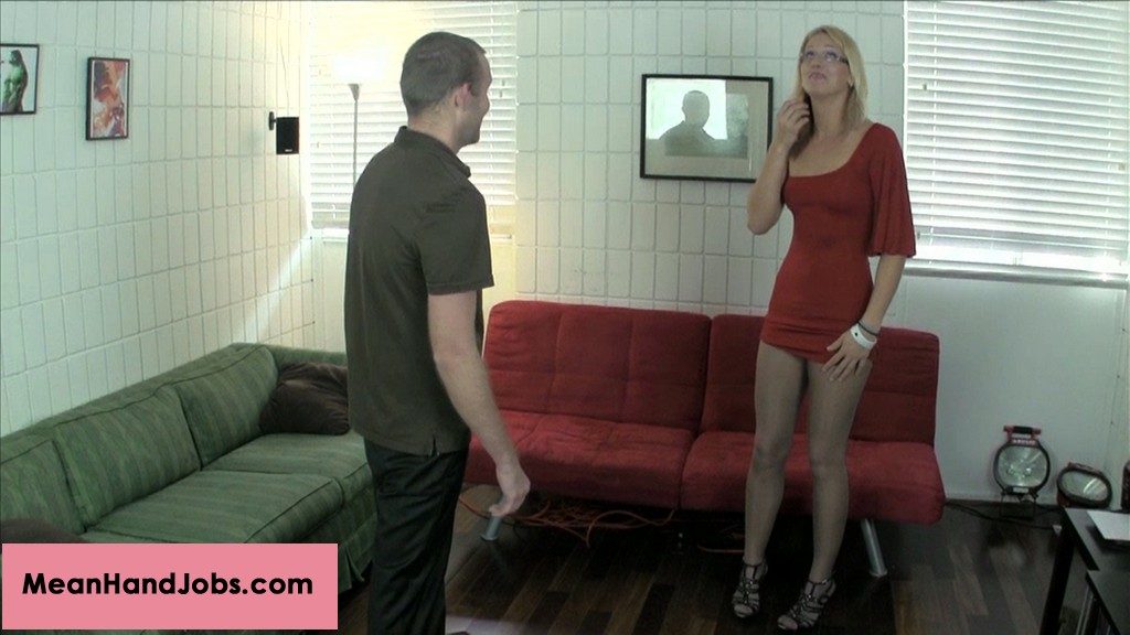 Ballbusting for mean remark 13. JC Simpson is about to leave her place, when her older Stepbrother, Billy Wild tells her she looks like a slut. She freaks out on him and goes a little wild on his balls.