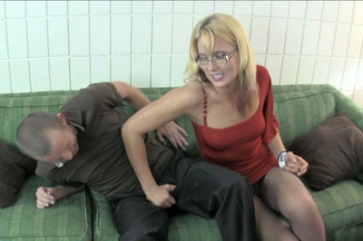 Ball stomping 82. He's pretty resistant for a while, but she really starts to hurt him. She teases him, squeezes his balls, humiliates him for looking at porn and jerking off to her prom pictures, knees him, stomps his balls.