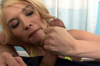 Well practiced hand jobs 24 Tiffany seems well practiced at giving hand jobs. Very impressive from an 18 year old. The way she makes him sucking his load, he can't deny driving her anywhere she wants.. Tiffany Fox.