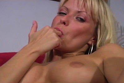 Licks fingers clean 59. She slams two fingers inside and moans