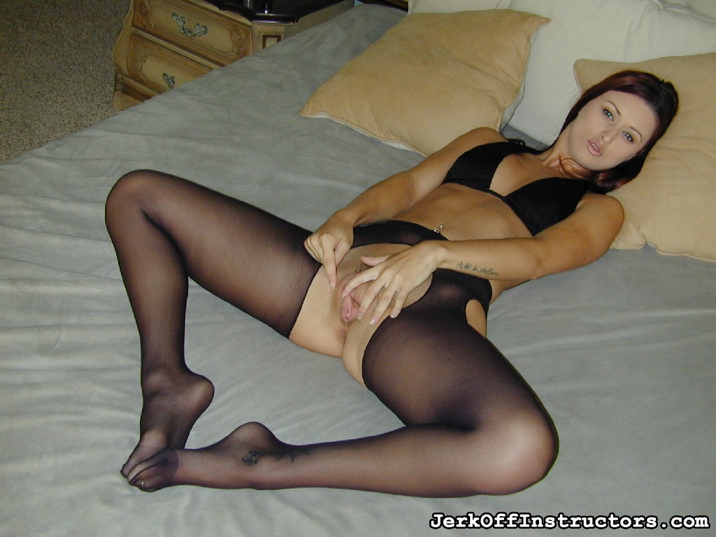 Cock crippling karlie montana. Karlie Montana is going to cripple your penish in her black crotchless pantyhose and excited black halter top. She knows you want to fuck her but that's not going to happen.