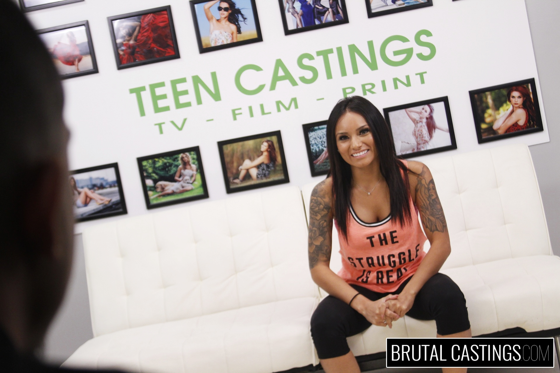 Bdsm casting  with natalia mendez. Natalia Mendez, a young horny Latina, dreams of becoming a supermodel with Teen Castings. She'll do anything for a contract. She'll even endure BDSM, domination, rope bondage, deepthroat bj, fingering, squirting, spanking, slapping and rough sex.
