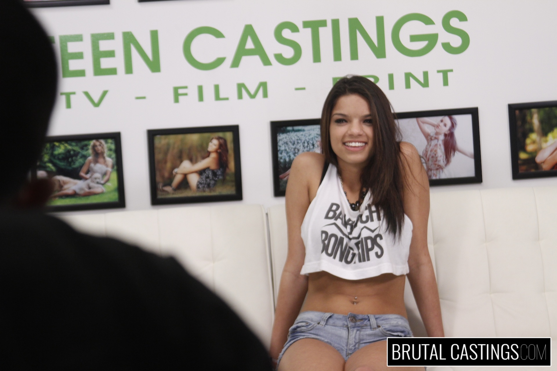 Bdsm casting  with carrie brooks. Carrie Brooks, a hot young smiley face with caramel skin, wants to become a model and all the fun perks with Teen Castings! She'll do anything to get what she wants. She'll even endure BDSM, domination, rope bondage, deepthroat bj, fingering, squirting, spanking, slapping and deep penetration violent sex.