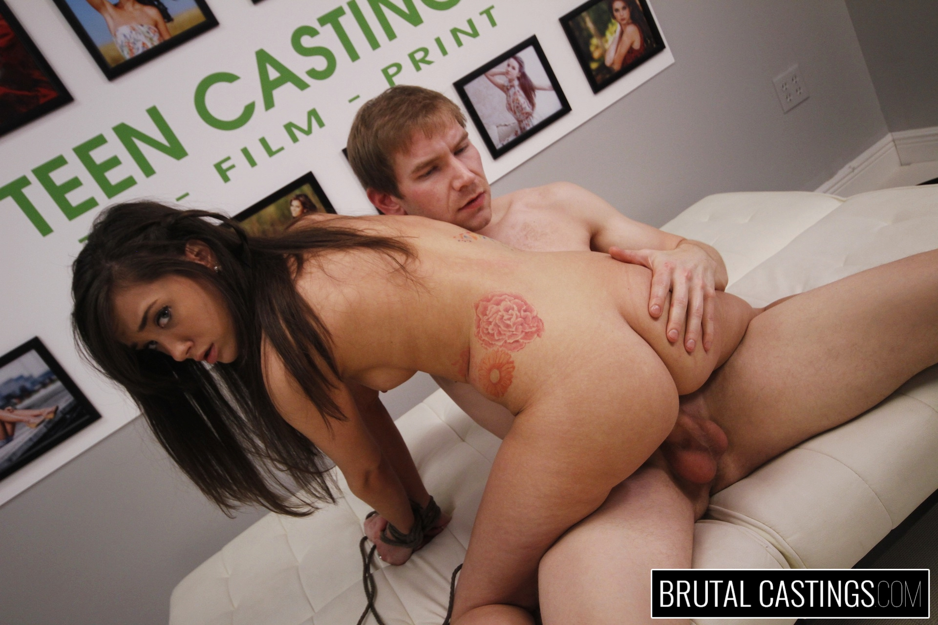 Bdsm casting couch xxx with gia paige. Gia Paige, a hardworking young hottie, desperately wants to quit her job for high fashion modeling with Teen Castings! She'll do anything to get what she wants. She'll even endure BDSM, domination, rope bondage, deepthroat bj, fingering, squirting, spanking, slapping and deep penetration violent sex.