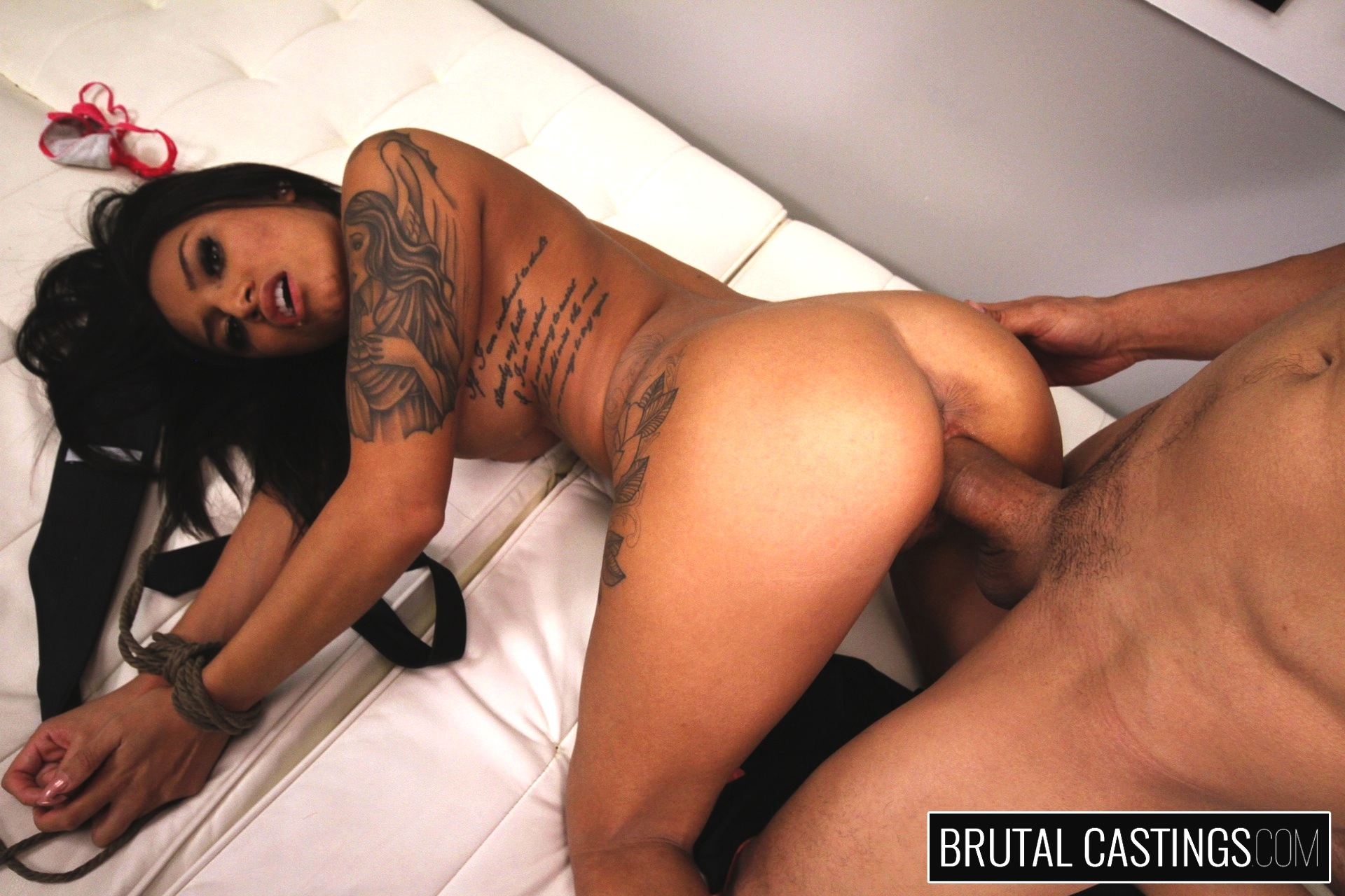 Bdsm casting couch xxx with natalia mendez. Natalia Mendez, a young exciting Latina, dreams of becoming a supermodel with Teen Castings. She'll do anything for a contract. She'll even endure BDSM, domination, rope bondage, deepthroat bj, fingering, squirting, spanking, slapping and rough sex.