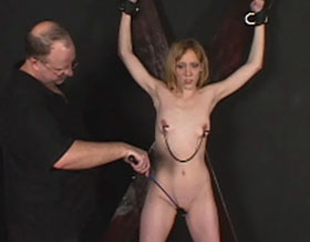 Bow before master0  fetishnetwork com  alana becomes docile and complaisant after the discipline from her new master. FetishNetwork.com - Alana becomes docile and servient after the discipline from her new master