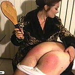 Horny housewife shows attitude and loves to spank her old man