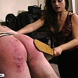 Big tit domme shows her cruel nature